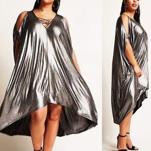 b0711bf326d Dresses - Forever 21 F21 Plus Size Metallic Dress 1X 2X 3X